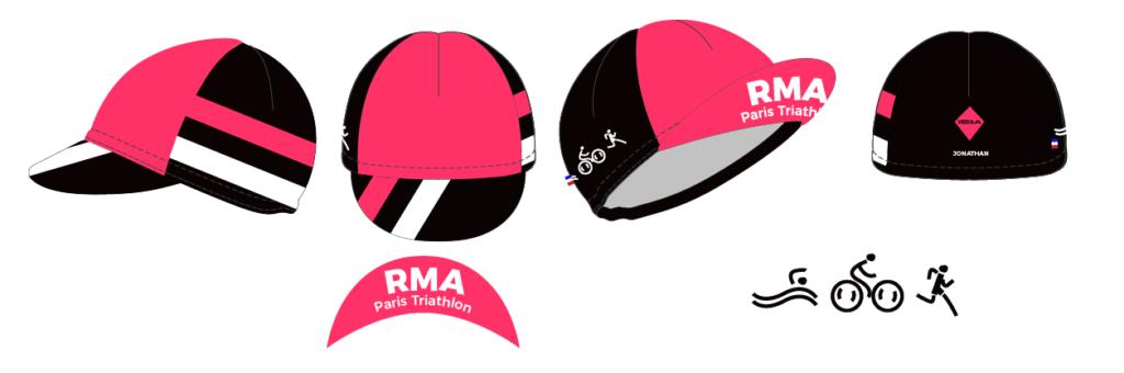 Casquette vélo RMA Triathlon